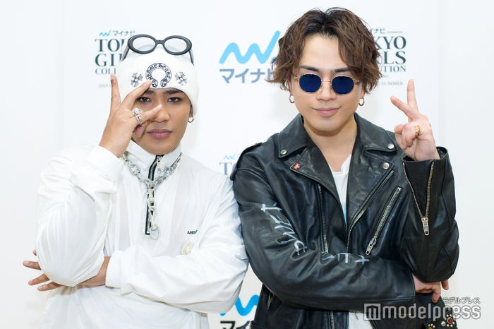 CRAZYBOY(ELLY)、HIROOMI TOSAKA(登坂広臣)(C)モデルプレス