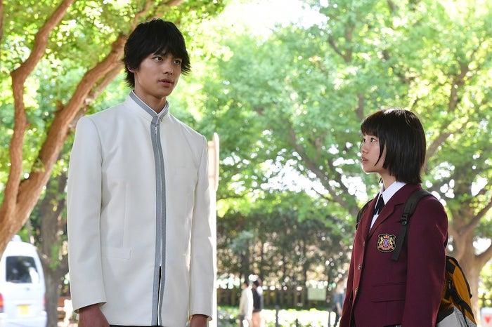 嘉島陸、杉咲花/「花のち晴れ~花男 Next Season~」第9話より(C)TBS