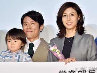 松嶋菜々子と夫婦役で原田泰造がニヤニヤ「大好き」
