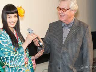 橋本愛「ベルリン国際映画祭」に初参加 流暢なドイツ語に大歓声