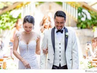尾崎紗代子、夫は元「men's egg」モデルだった LAでの豪華結婚式&ドレス姿公開