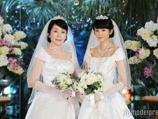 桐谷美玲「次こそは自分の結婚式で!」松坂慶子と純白ウェデイングドレス姿を披露