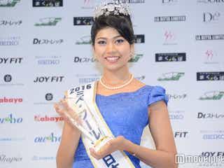 「ミス・ワールド2016」日本代表決定 インドと日本のハーフ美女に栄冠