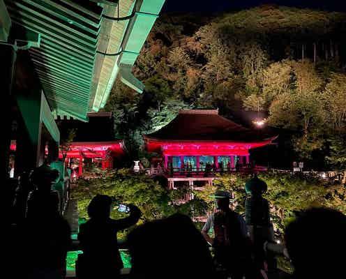 「グッチ・イン・キョウト」ルポ 赤く染まった清水寺 竹をテーマに再生した京町家 悠久の時と未来への夢が交錯する
