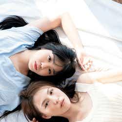 モデルプレス - 「ラブライブ!」Saint Snow田野アサミ&佐藤日向、色白美肌に釘付け 網タイツ衣装姿も