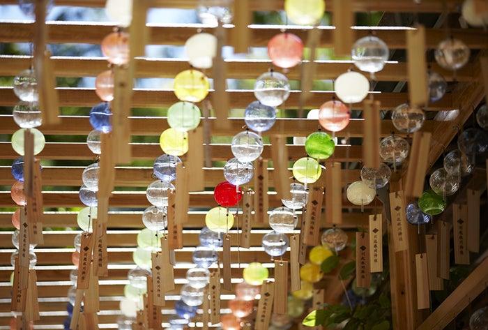 川越氷川神社 縁むすび風鈴/画像提供:川越氷川神社