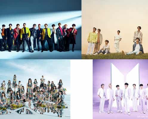 BTS「CDTVライブ!ライブ!」2週連続出演 乃木坂46・EXILE・三代目ら豪華ラインナップ