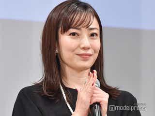 菅野美穂、母親の大変さ吐露「誰にも褒められない」 子育てエピソード明かす<明日の食卓>