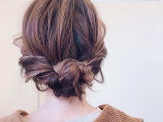 おしゃれなインナーカラーが活きるヘアアレンジ集。トレンドの素敵な髪型をご紹介