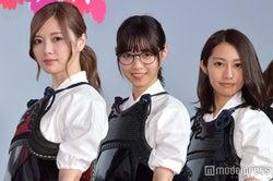 白石麻衣、西野七瀬、桜井玲香(C)モデルプレス