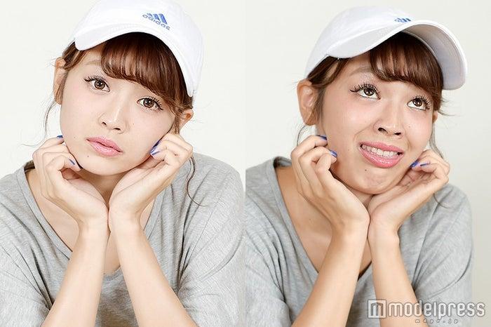 """可愛いのに変顔が凄すぎる!SNSで話題の全力""""顔芸""""モデル・mireiって?目覚めたキッカケ「考えるより先に顔が動いてる」モデルプレスインタビュー(C)モデルプレス"""