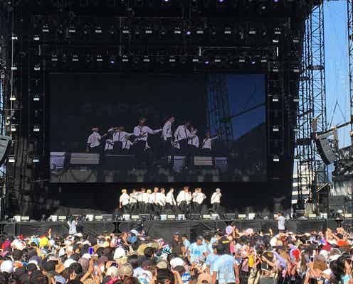 SEVENTEEN「サマソニ」で日本の夏フェス初出演 最新曲「HIT」で15000人魅了<セットリスト>