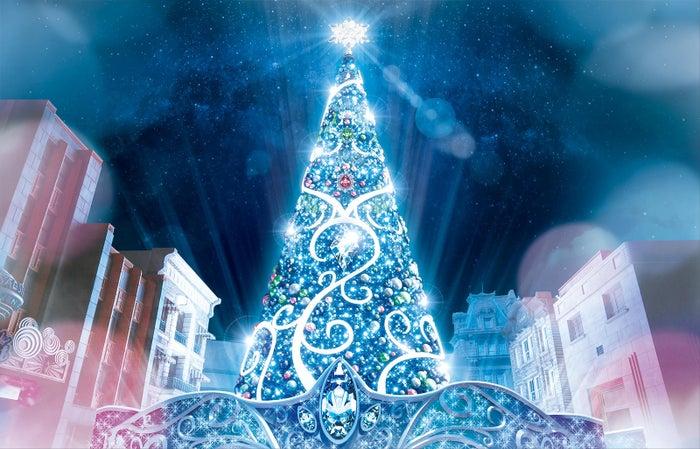 ユニバーサル・クリスタル・クリスマス/画像提供:ユニバーサル・スタジオ・ジャパン