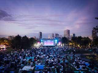 野外映画イベント「品川オープンシアター」2020年は初の2夜連続上映