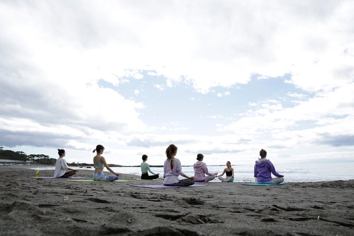 「Natural Beauty Camp2019 in HAYAMA」の様子(提供写真)