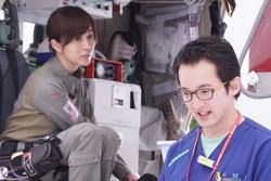 比嘉愛未、浅利陽介/「コード・ブルー」第2話より(画像提供:フジテレビ)