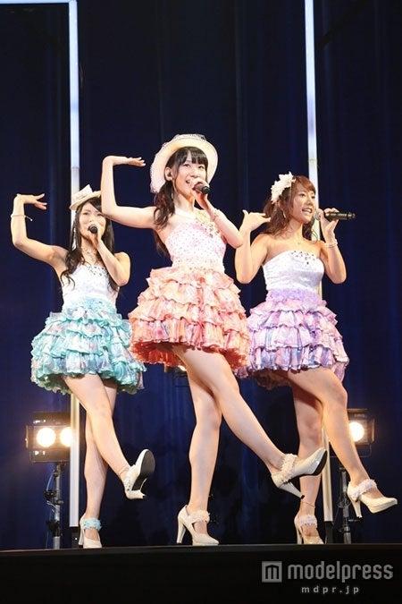 7月18日発売の新曲「ロマンス・プライバシー」の発売記念イベントを行ったフレンチ・キス