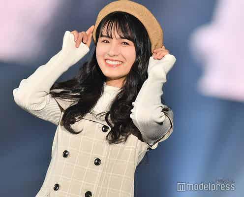 乃木坂46大園桃子、キュートな笑顔&ポーズで会場を魅了<TGC SHIZUOKA 2019>