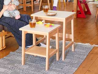 狭い部屋で活躍!畳める、重なるニトリ×BEAMSのおしゃれ家具&活用法