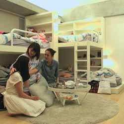 美咲、理子、夏美『TERRACE HOUSE BOYS & GIRLS IN THE CITY』31st WEEK(C)フジテレビ/イースト・エンタテインメント