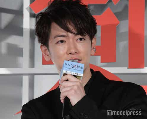 佐藤健、ワンオクTakaは「嫁1です」告白にTaka「1から転げ落ちないように頑張っていきたい」<るろうに剣心>