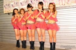 ℃-ute、へそ&肩出し衣装で魅力アピール「新メンバーは入れないで」
