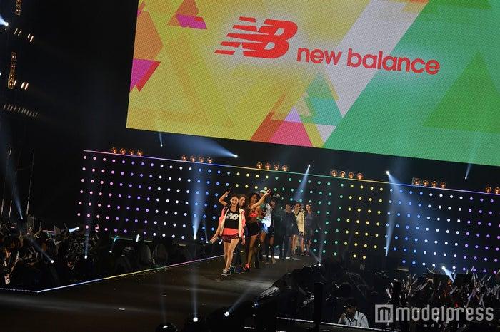 「new balance」ステージの様子(C)モデルプレス