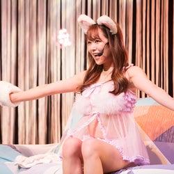 NMB48白間美瑠、セクシー×キュートに生着替えも披露 オンラインで初ソロライブ開催<セットリスト>