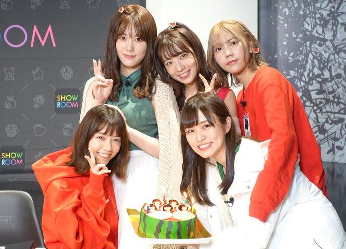 (左から時計回りに)伊藤純奈、斉藤優里、川後陽菜、伊藤かりん、西野七瀬(提供写真)