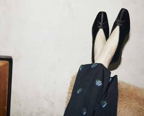 履きやすさも◎! 季節感を取り入れたパンプス&フラットシューズ