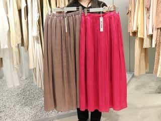 【GU新作】売り切れる予感…2020年のプリーツスカートはとろみ&ツヤが決め手!