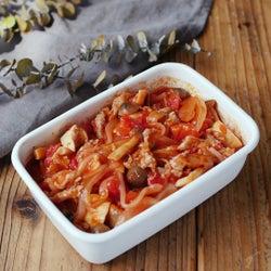 【作り置き】「きのこと豚肉のトマト煮」の作り方