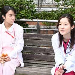 上白石萌音、蓮佛美沙子/「恋はつづくよどこまでも」第7話より(C)TBS