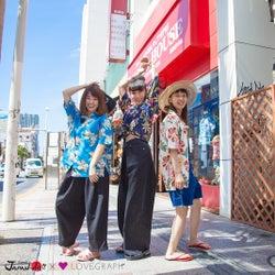 沖縄に行きたくなる!中田クルミ・柴田紗希・やのあんなが満喫<Kawaii JAPAN-da!!>