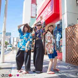 モデルプレス - 沖縄に行きたくなる!中田クルミ・柴田紗希・やのあんなが満喫<Kawaii JAPAN-da!!>