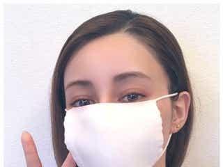 ダレノガレ明美、アベノマスク着用で小顔に驚きの声 顔の縦幅も公開