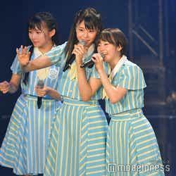 瀧野由美子、甲斐心愛/STU48「TOKYO IDOL FESTIVAL 2018」 (C)モデルプレス