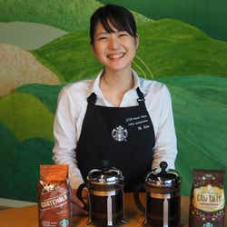 間惣檀/画像提供:スターバックス コーヒー ジャパン