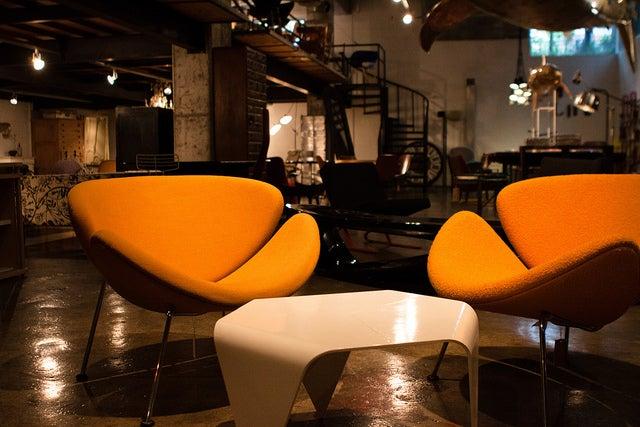 こだわりのヴィンテージ家具がずらり/aA Design Museum, Hongdae, Seoul, South Korea by Jirka Matousek