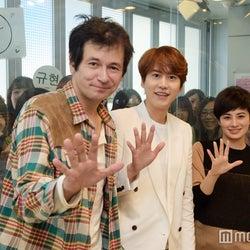SUPER JUNIORキュヒョン、ファンと「すごい近い!」公開生放送 日本語トークに黄色い歓声