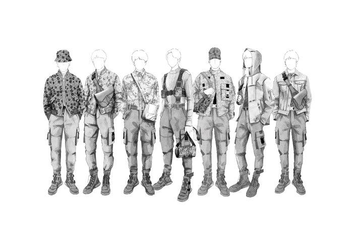 Dior(ディオール)がBTSのツアー衣装手掛ける ブランド史上初の試み(提供画像)