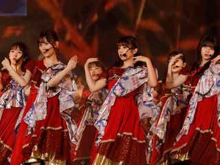 乃木坂46、2年連続の台湾単独ライブで1万人魅了 妖艶衣装でパフォーマンス