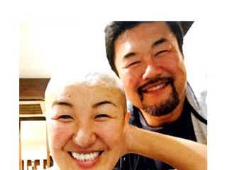 北斗晶、覚悟の丸刈り「みんなで大笑い」 夫・佐々木健介「一緒に頑張っていこう」