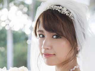 久松郁実、初のウエディングドレス ニューカレドニアで笑顔&美ボディ全開