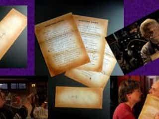 ★「バック・トゥ・ザ・フューチャーPART2/PART3」(1989/1990)/エメット・ブラウン博士からマーティへのレター(実使用)