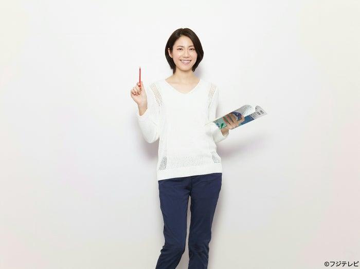 初のショートカットで主演ドラマ「早子先生、結婚するって本当ですか?」に挑む松下奈緒(C)フジテレビ