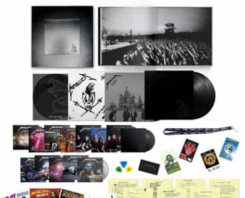 『メタリカ』(ブラック・アルバム)リマスター・デラックス・ボックス・セットがリリース。9月10日は世界で「メタリカTシャツDAY」