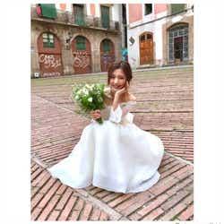 モデルプレス - 真野恵里菜、キュートなウェディングドレスショットに絶賛の声続出