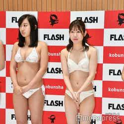 足立華、牛居ひかり (C)モデルプレス