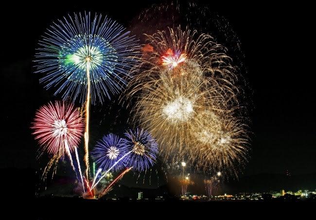 亀岡平和祭保津川市民花火大会/画像提供:京都府PR事務局